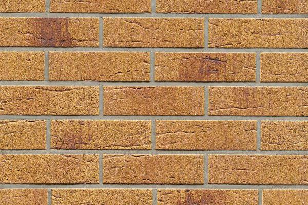 Strangpress-Riemchen BK-R-114-287 (Normalformat (NF)) beige  nuanciert (Klinkerriemchen)