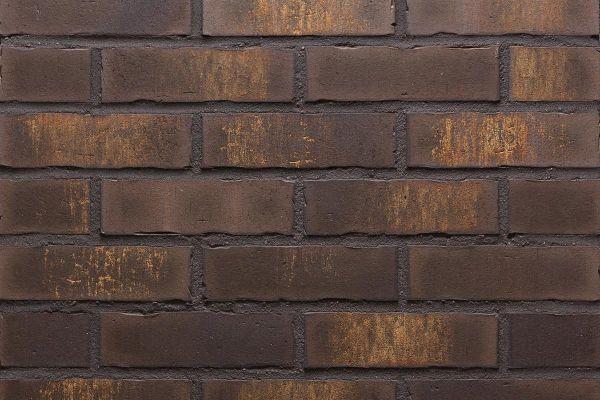 Strangpress-Riemchen BK-R-114-17 (Normalformat (NF)) braun nuanciert (Klinkerriemchen)