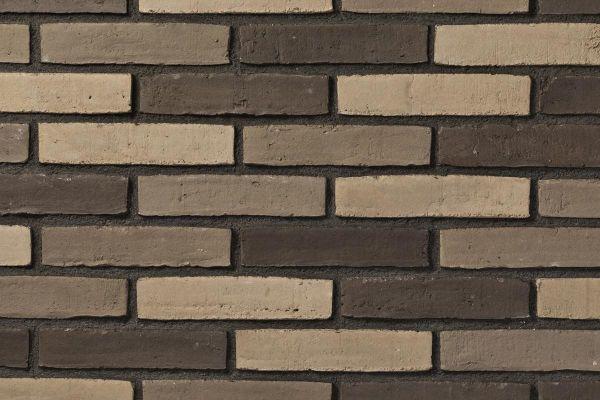 Wasserstrich-Klinker / Verblender BK-102-159-DF (Dünnformat-Klinkerstein (DF)) grau-beige-bunt