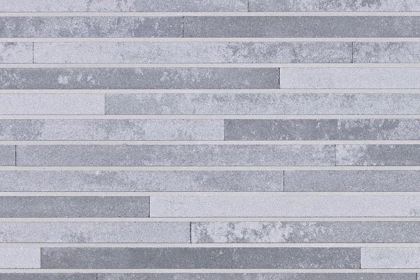 Strangpress-Riemchen BK-R-118-113-ModF (Modulformat (ModF)) grau nuanciert (Klinkerriemchen)
