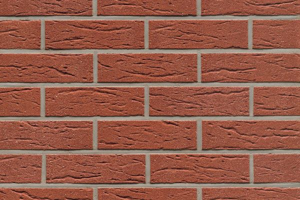Strangpress-Riemchen BK-R-114-435 (Normalformat (NF)) rot (Klinkerriemchen)