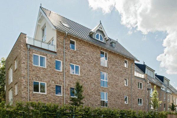 Mehrfamilienhaus  H2 mit Klinker 103-179-NF braun - beige -bunt