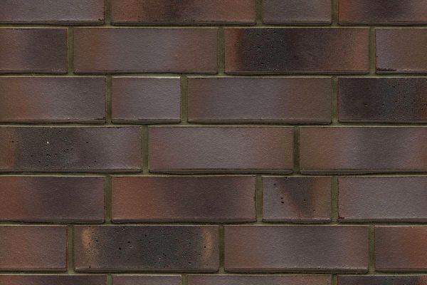 Strangpress-Riemchen BK-R-114-581 (Normalformat (NF)) grau - bunt (Klinkerriemchen)
