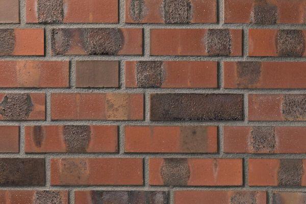 Strangpress-Klinker / Verblender BK-108-122-NF (Normalformat (NF)) rot, Kohle