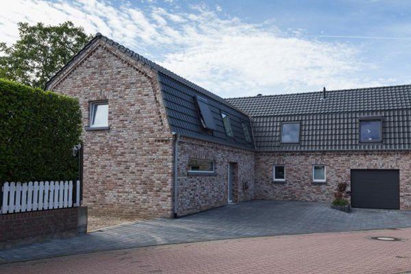 Einfamilienhaus H3 mit Klinker 103-179-NF braun - beige -bunt