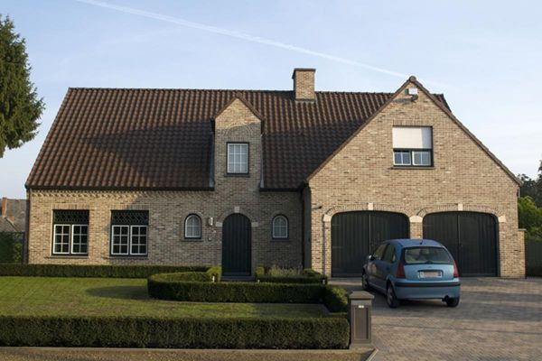 Einfamilienhaus H3 mit Klinker 103-106-WDF braun-bunt