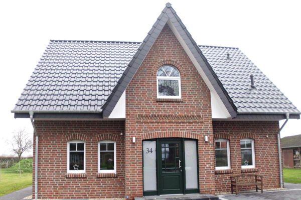 Einfamilienhaus H7 mit Klinker 104-101-NF rot-braun
