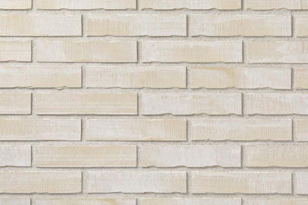 Strangpress-Riemchen BK-R-101-03 (Dünnformat (DF)) weiß - grau (Klinkerriemchen)