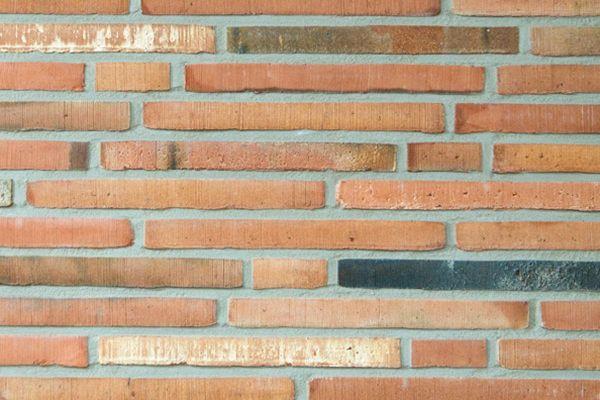 Handform-Klinker / Verblender BK-113-115-ModF (Modulformat-Klinkerstein (ModF)) rot - bunt