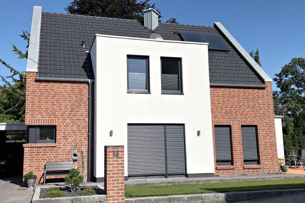 Einfamilienhaus  H4 mit Klinker 104-104-NF rot-braun