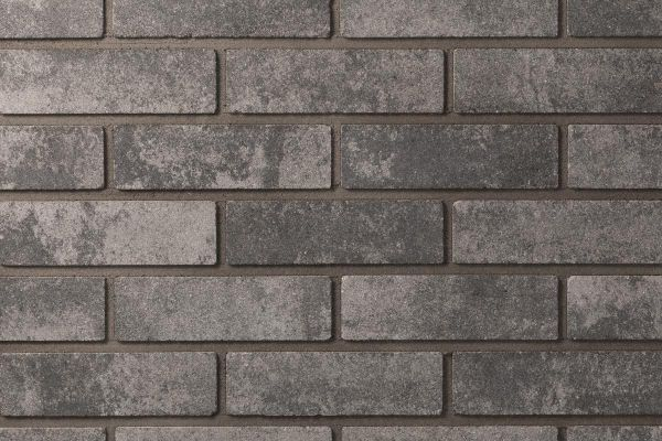 Strangpress-Klinker / Verblender BK-118-105-ModF (Modulformat-Klinkerstein (ModF)) grau nuanciert