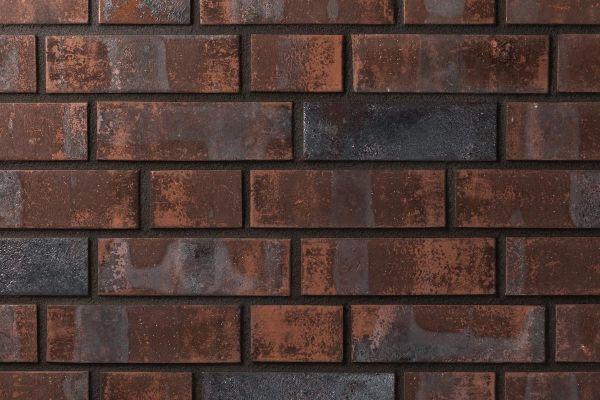 Strangpress-Klinker / Verblender BK-101-136-NF (Normalformat (NF)) rot -Kohle