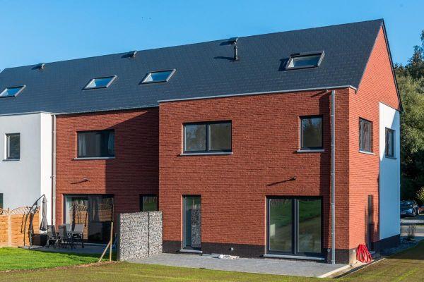 Einfamilienhaus H2 mit Klinker 103-127-WDF rot-bunt
