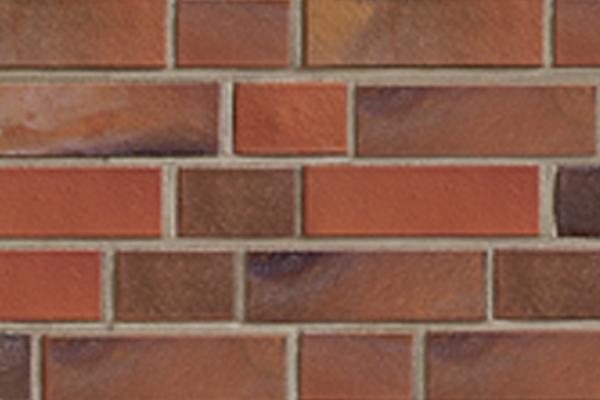 Strangpress-Klinker / Verblender BK-101-122-NF rot - bunt - Kohle Normalformat (NF)