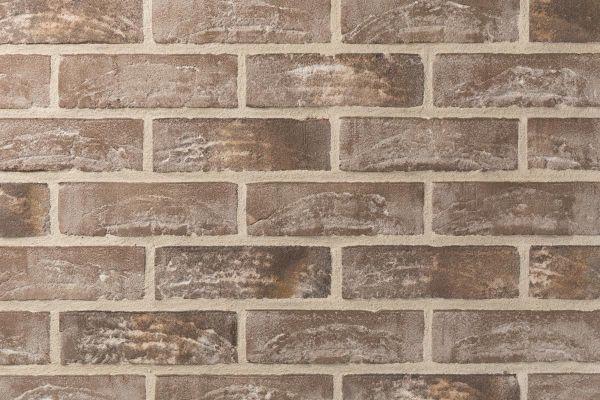 Handform-Klinker / Verblender BK-105-136-WDF (Waaldickformat-Klinkerstein (WDF)) grau - beige nuanciert