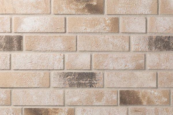 Strangpress-Klinker / Verblender BK-117-108-WDF (Waaldickformat (WDF)) beige - braun nuanciert