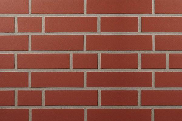 Strangpress-Riemchen BK-R-107-164-NF (Normalformat (NF)) rot  (Klinkerriemchen)