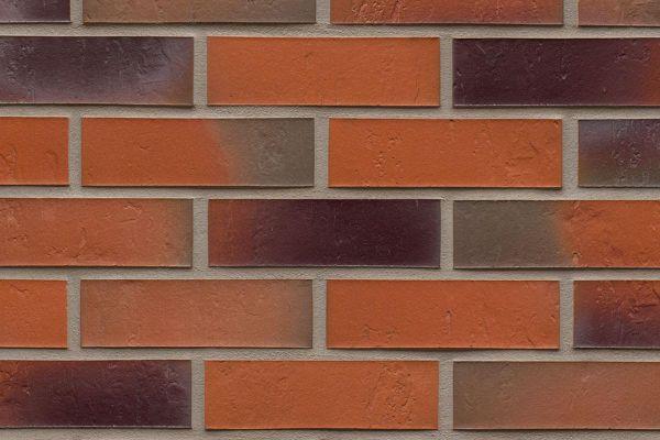 Strangpress-Riemchen BK-R-114-715 (Normalformat (NF)) bunt (Klinkerriemchen)