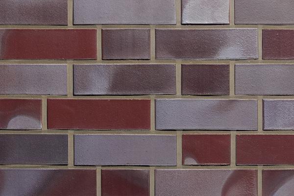 Klinker / Verblender BK-102-113-NF rot-grau