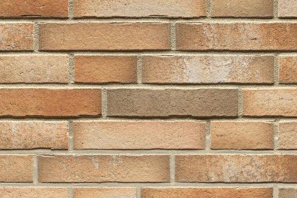 Strangpress-Riemchen BK-R-114-918 (Normalformat (NF)) beige - sand, braun nuanciert (Klinkerriemchen)