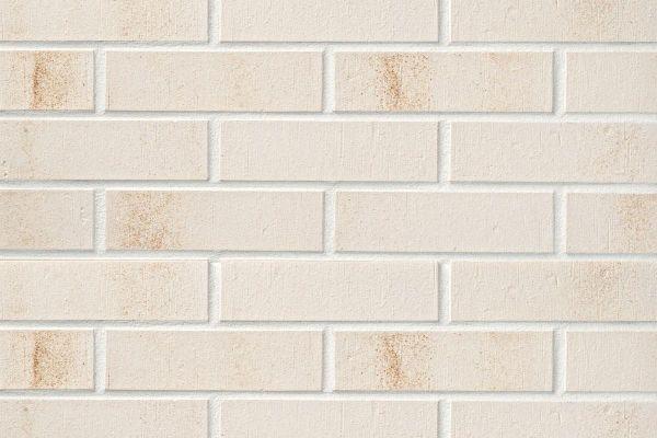 Strangpress-Riemchen BK-R-104-17-NF (Normalformat (NF)) weiß (Klinkerriemchen)