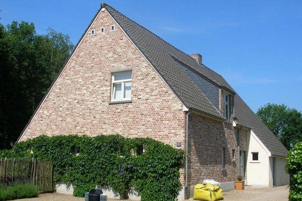 Einfamilienhaus H3 mit Klinker 103-111-WDF rot-bunt