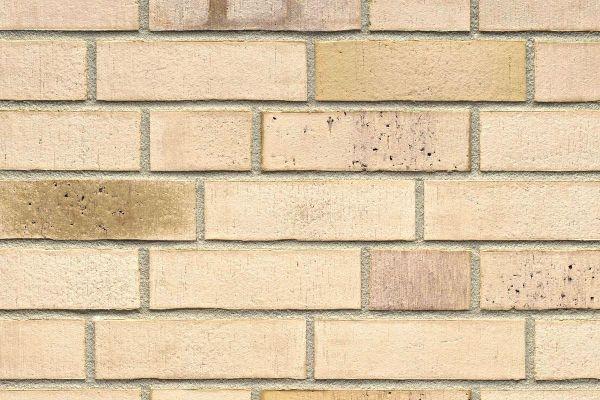 Strangpress-Riemchen BK-R-114-913 (Normalformat (NF)) beige - sand nuanciert (Klinkerriemchen)