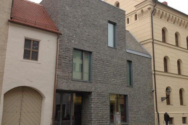 Einfamilienhaus H4 mit Klinker 103-155-WDF grau, beige nuanciert