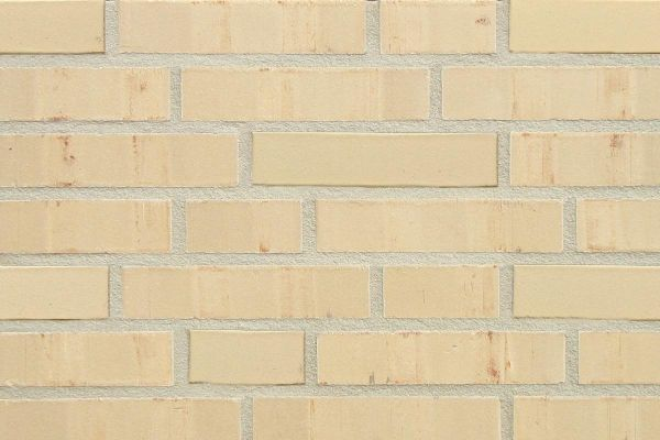 Strangpress-Klinker / Verblender BK-108-103-NF (Normalformat-Klinkerstein (NF)) sandgelb