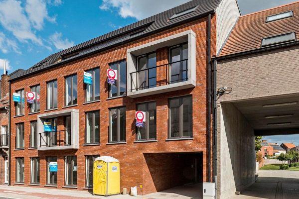 Mehrfamilienhaus  H1 mit Klinker 103-203-NF rot- blau - bunt