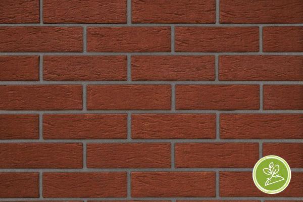 Strangpress-Riemchen BK-R-103-192 (Normalformat (NF)) rot (Klinkerriemchen)
