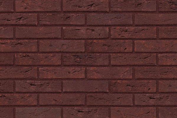 Handform-Riemchen BK-R-103-374 (Waalformat (WF)) rot (Klinkerriemchen)