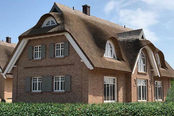 Landhaus H5 mit Klinker 104-108-NF rot-bunt